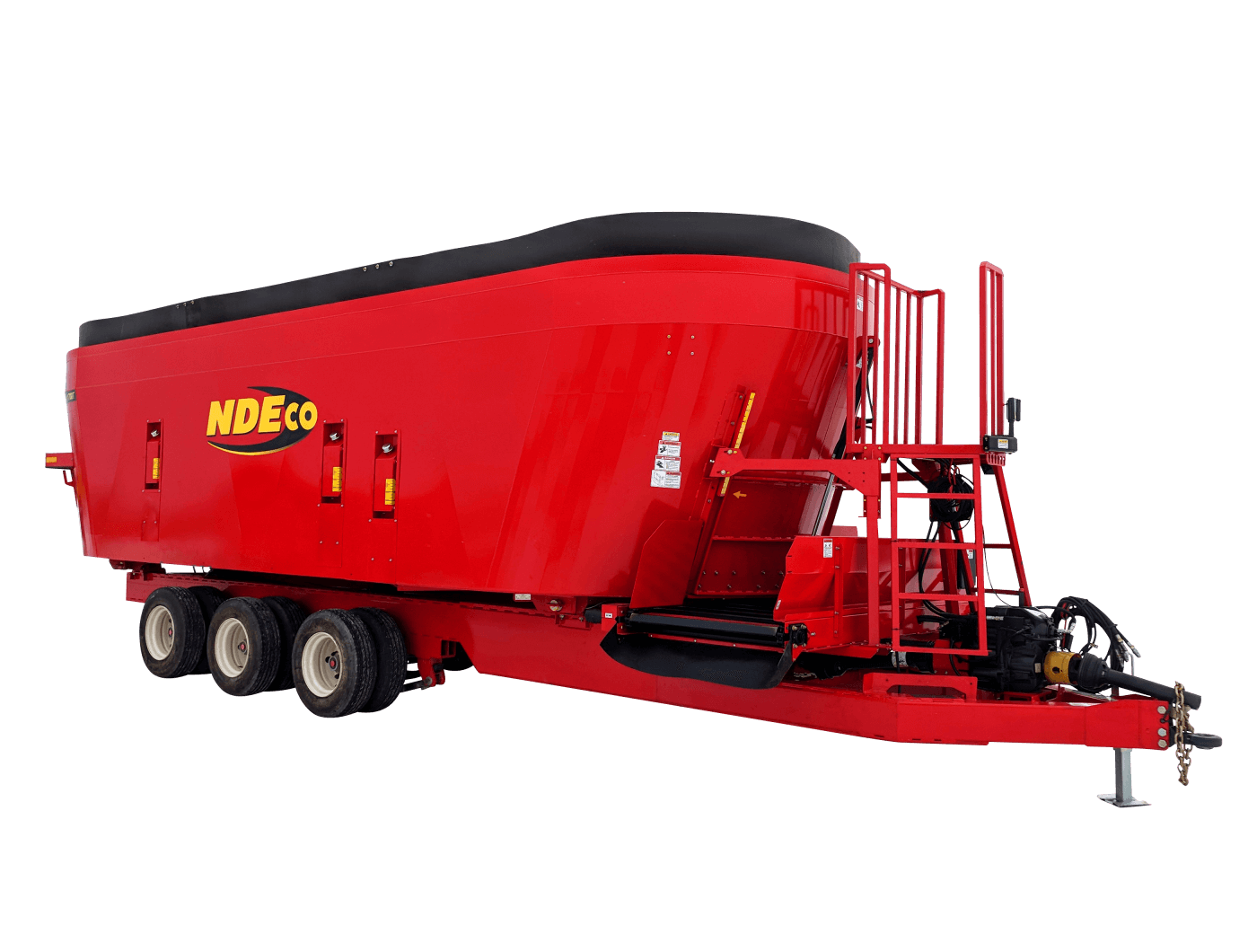 NDEco FS1700T w/ Flat 2-way Conveyor and Triple Tandem Spring Suspension