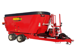 NDEco FS850DL w/ 2-way Flat Conveyor and Tandem Tires