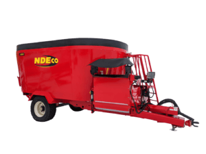 NDEco U850D Dual Auger Vertical Feed Mixer