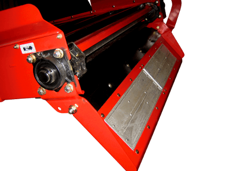 NDEco Vertical TMR Feed Mixer Conveyor Magnet Feed Slide