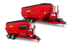NDEco Dual Triple Auger FS Series Vertical TMR Feed Mixer