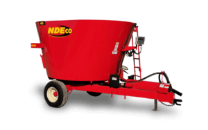 NDEco Single Auger S400L Vertical TMR Feed Mixer